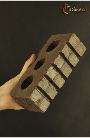 Three-Hole Brick