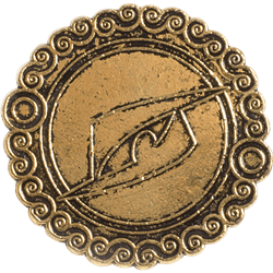 Single coin, reverse