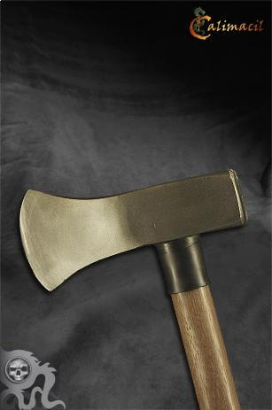 Axe head closeup